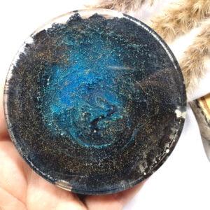 Podkładka czarno-niebieska - Smocze Skarby
