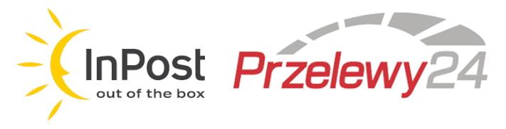 Logo Inpost i Przelewy24 - Smocze Skarby