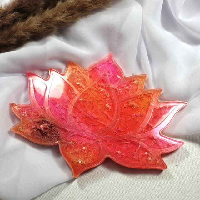 Podkładka Lotos różowo-pomarańczowy- Smocze Skarby