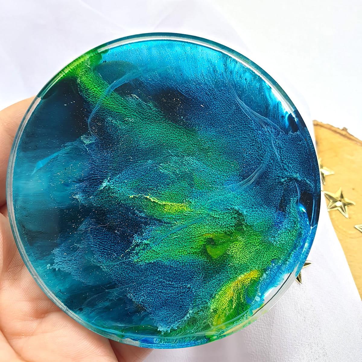Podkładka morsko-zielona - Smocze Skarby