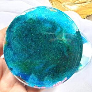 Podkładka niebiesko-zielona - Smocze Skarby