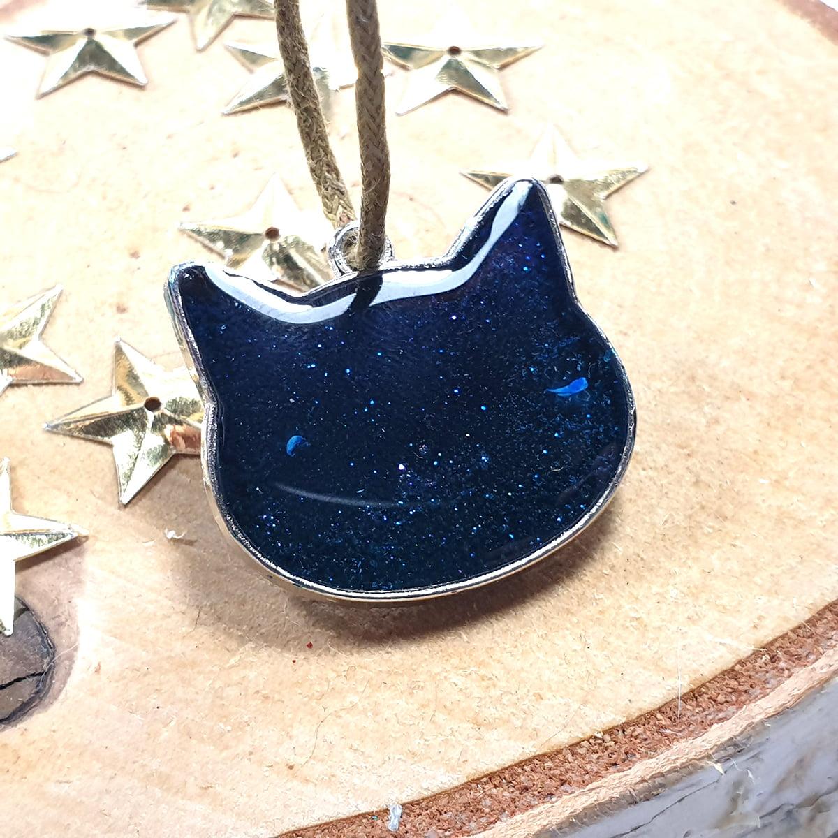 Zawieszka niebieska Koci Raj - Smocze Skarby
