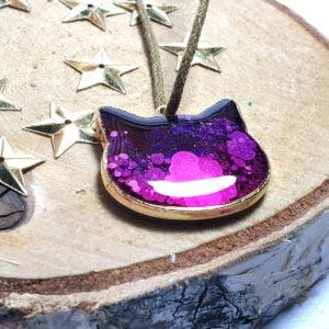 Zawieszka różowa Koci Raj - Smocze Skarby