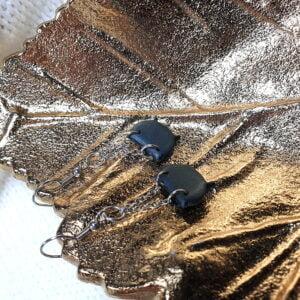 Kolczyki kociołki z kolekcji Wiedźmi Czas - Smocze Skarby